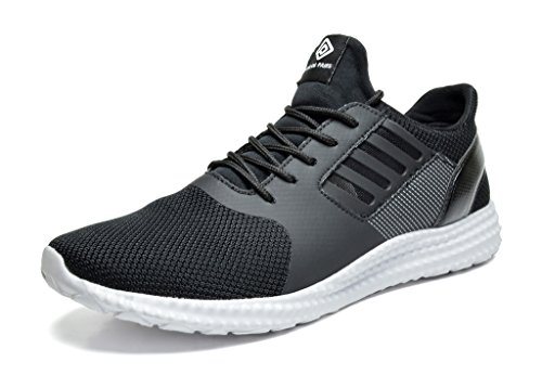 DREAM-PAIRS-Mens-160821-M-Black-White-Athletic-Running-Shoes-Sneakers-9-M-US-0
