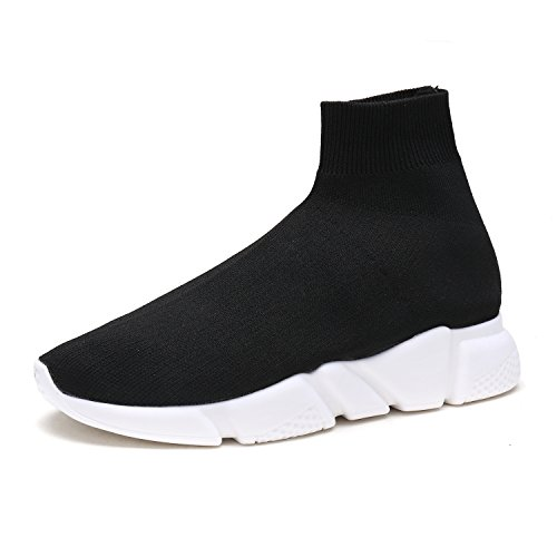 DREAM-PAIRS-Womens-170885W-Black-White-Lightweight-Breathable-Fashion-Sneakers-Sport-Walking-Shoes-Size-7-BM-US-0