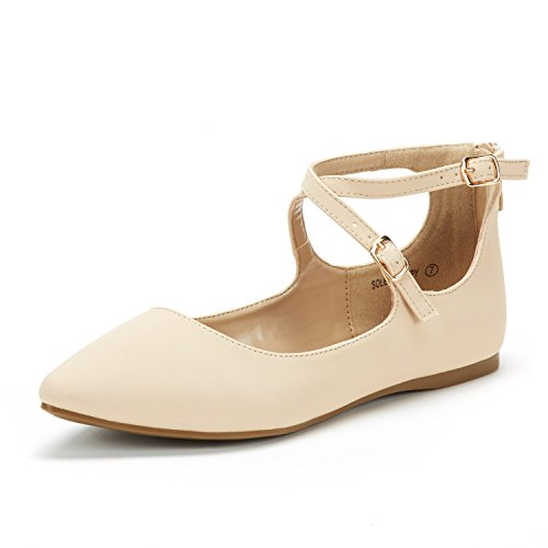 Dream-Pairs-Womens-Sole-Strappy-Nude-Nubuck-Ankle-Straps-Flats-Shoes-8-M-US-0