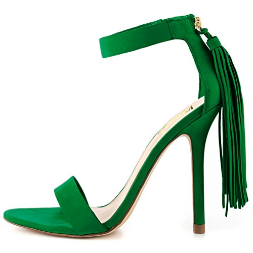 VOCOSI-Womens-Fringe-Tasseles-Sandals-Ankle-Strap-High-Heels-With-Back-Zipper-Summer-Fashion-Dress-4-Inch-Green-6-US-0