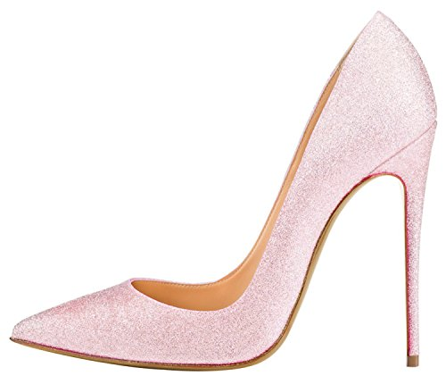 Guoar-Womens-Big-Size-Pointed-Toe-Stiletto-Glitters-Highheels-Pumps-Shoes-For-Wedding-Party-Pink-US9-0