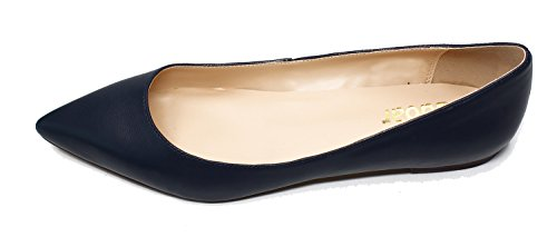 Guoar-Womens-Pointed-Toe-Big-Size-Shallow-Dark-blue-Soft-Leather-Solid-Flats-Shoes-us65-0