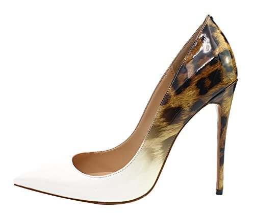 Guoar-Womens-Stiletto-Big-Size-Shoes-Pointed-Toe-Patent-Ladies-Solid-Pumps-For-Work-Place-Dress-Party-White-Gradient-Leopard-Brown-US105-0