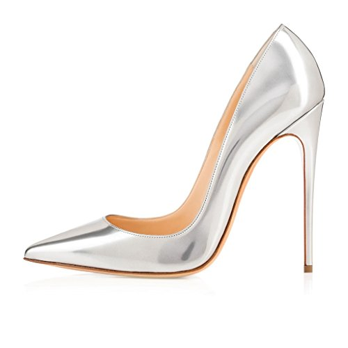 Sammitop-Womens-Fashion-Pointed-Toe-Stiletto-Skyhigh-Heels-Pumps-Sexy-Slip-On-Dress-Shoes-0