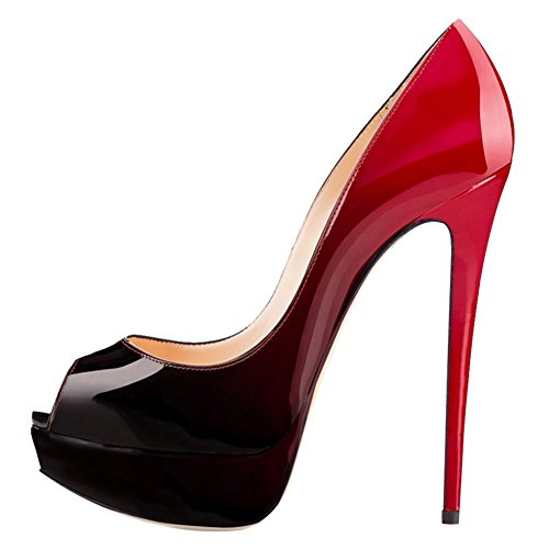 VOCOSI-Elegant-Dress-Peep-Toe-High-Heels-Platform-Pumps-Stilettos-Womens-Shoes-0