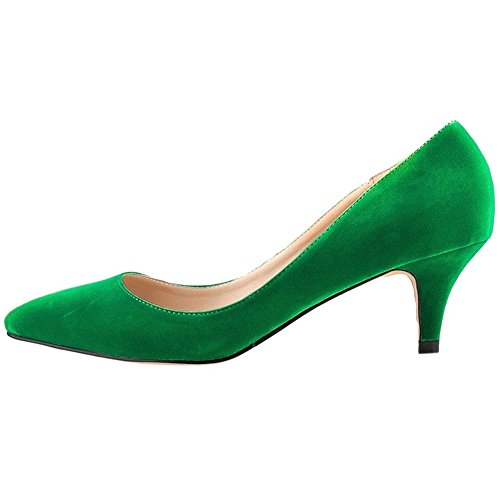 VOCOSI-Womens-Casual-Pumps-Middle-Kitten-Heel-with-Pointed-Toe-Fashion-Dressing-Shoes-0