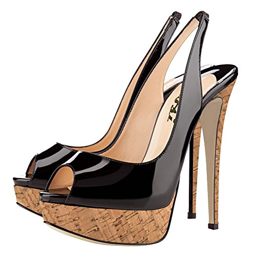 VOCOSI-Womens-Platform-PumpsPatent-Peep-Toe-High-Heels-Sling-Dress-Pumps-Shoes-0