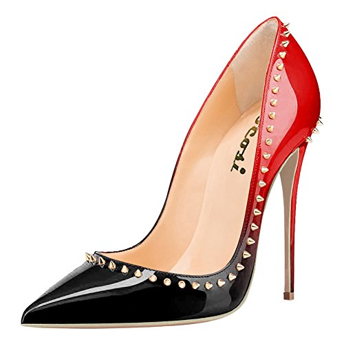 VOCOSI-Womens-Pointed-Toe-Stiletto-High-Heel-Pumps-with-Rivets-Sexy-Slip-on-Dress-Shoes-0