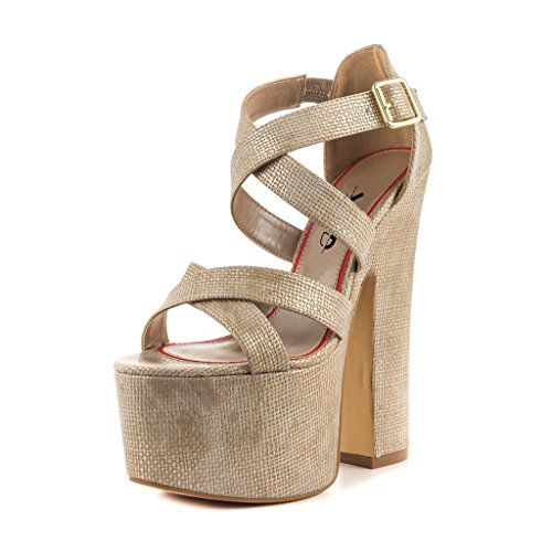 XYD-Club-Dress-Shoes-Chunky-High-Heels-Ankle-Buckle-Strap-Platform-Pumps-Gorgeous-Sandals-For-Women-Size-6-Biege-0