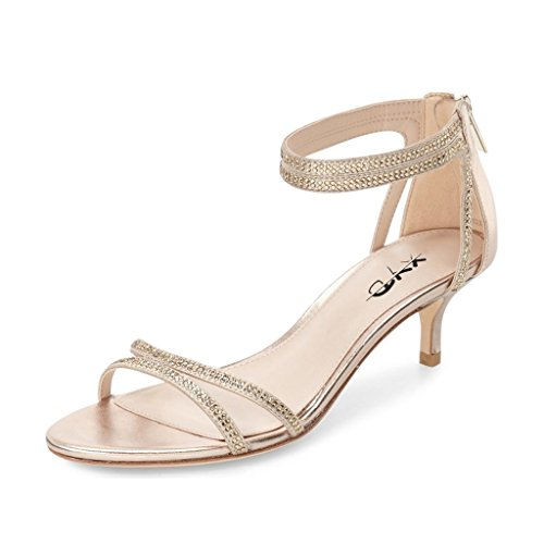 XYD-Wedding-Open-Toe-Dress-Shoes-Rhinestone-Low-Heel-Sandals-Dancing-Pumps-For-Women-Size-5-Gold-0