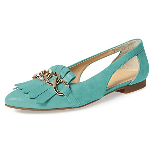 XYD-Womens-Chic-Pointed-Toe-Tassel-Loafers-Slip-On-Cutout-Slide-Dress-Ballet-Flats-Shoes-Size-15-Aqua-0