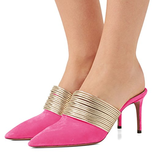 XYD-Prom-Party-Pointed-Toe-Slip-On-Metal-Ring-Backless-Sandals-Stilettos-High-Heels-Slide-Pump-Shoes-For-Women-0