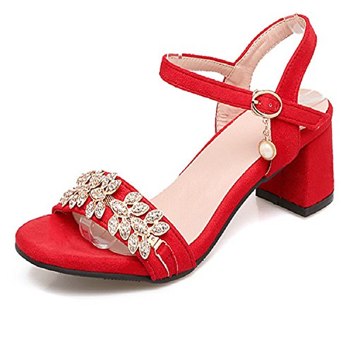 Dearlly-New-Arrive-Women-High-Heels-Sandals-Fashion-Flock-Summer-Party-Shoes-Rhinestone-Sweet-ElegantBig-Size-34-47-0
