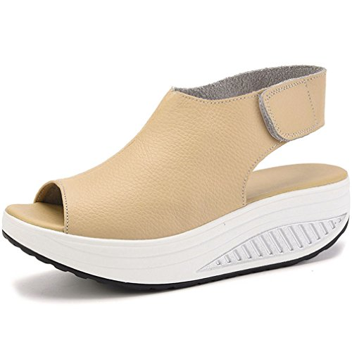 Orlancy-Womens-Leather-Platform-Comfort-Open-Toe-Sporty-Shoes-Shape-UPS-Walking-Sandals-Size-US4-12-0