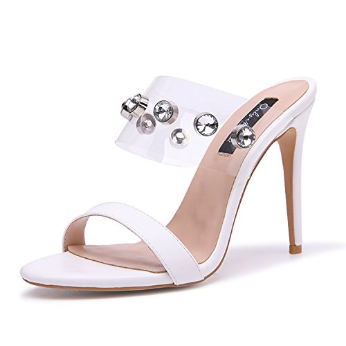 onlymaker-Womens-Clear-Open-Toe-Mules-Slingback-Stiletto-Rhinestone-Embellished-High-Heels-Slip-on-Slide-Sandals-White-9-M-US-0