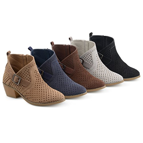 Brinley-Co-Womens-Perforated-Faux-Suede-Stacked-Heel-Asymmetrical-Booties-0