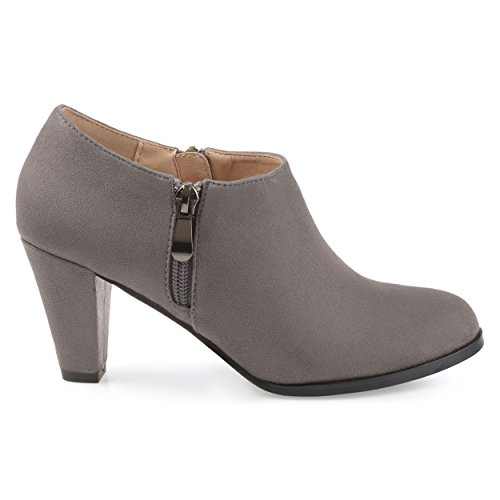 Brinley-Co-Womens-Sadra-Faux-Suede-Low-Cut-Comfort-Sole-Ankle-Booties-Grey-12-Regular-US-0
