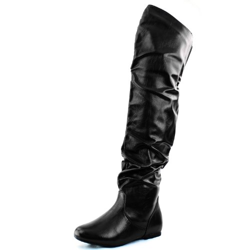DailyShoes-Womens-Fashion-Hi-Over-the-Knee-Thigh-High-Flat-Slouchly-Shaft-Low-Heel-Boots-0