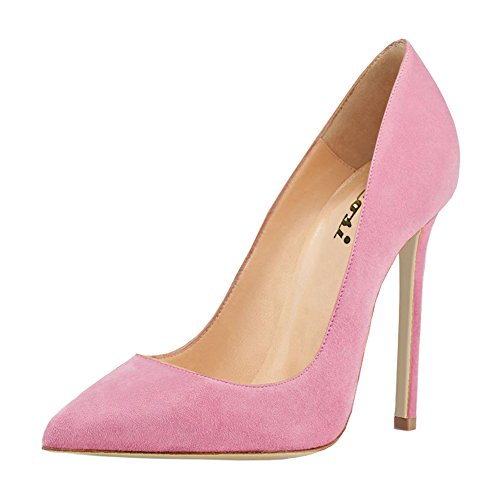 VOCOSI-Womens-High-Heels-for-Women-Dress-ShoesSlip-On-Pointed-Toe-Pumps-S-Pink-6-US-0
