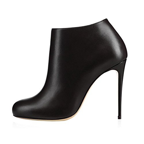 VOCOSI-Womens-Round-Toe-Suede-Matte-Black-Ankle-Boots-High-Heels-Classic-Dress-Booties-Matte-Black-75-US-0