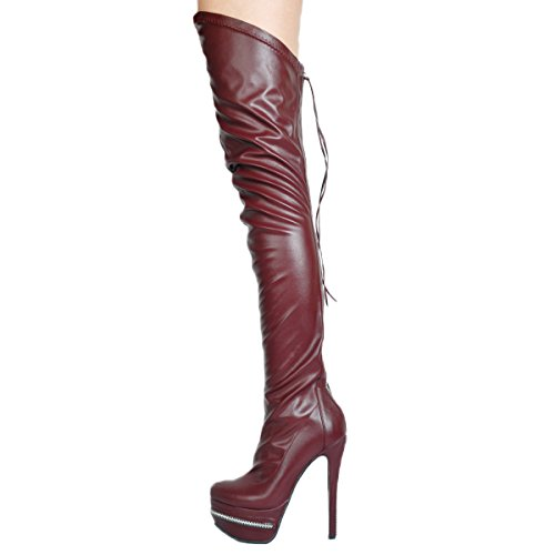 VOCOSI-Womens-Ztota-Over-Knee-BootsStilettos-High-Heels-Platform-Shoes-Fashion-Over-Knee-High-Boots-Burgundy-40-EU-0