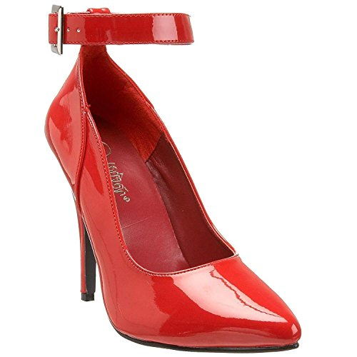 Pleaser-SEDUCE-431-Womens-Classic-Sexy-Pump-5-Heel-with-Ankel-Strap-Shoes-0-0