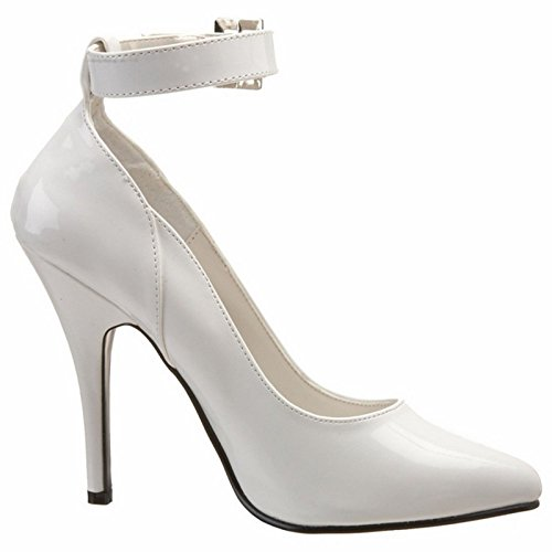 Pleaser-SEDUCE-431-Womens-Classic-Sexy-Pump-5-Heel-with-Ankel-Strap-Shoes-0