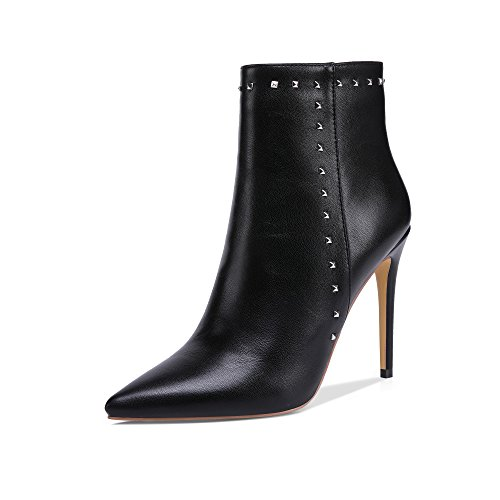 onlymaker-Pointed-Toe-Studded-Rivet-Ankle-Boots-for-Women-Side-Zipper-Dress-High-Heels-Booties-Black-E-14-M-US-0