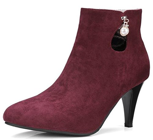 IDIFU-Womens-Elegant-Pointed-Toe-High-Stiletto-Heels-Faux-Suede-Ankle-Boots-with-Pendant-0