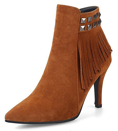 IDIFU-Womens-Elegant-Studded-Fringe-Zip-Up-Pointed-Toe-Ankle-Boots-with-Heels-0