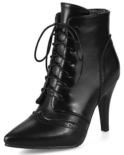 IDIFU-Womens-Fashion-Pointed-Toe-High-Stiletto-Heels-Lace-Up-Brogues-Ankle-Boots-Martin-Booties-0