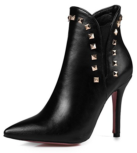 IDIFU-Womens-Fashion-Rivet-Pointed-Toe-Ankle-Boots-with-Stiletto-Heels-0