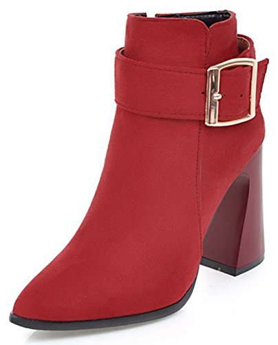 IDIFU-Womens-Retro-Block-High-Heel-Pointed-Toe-Buckle-Ankle-Boots-with-Zipper-0