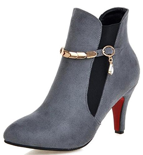 IDIFU-Womens-Sexy-Faux-Suede-Pointed-Toe-High-Stiletto-Heels-Ankle-Boots-with-Pendant-0