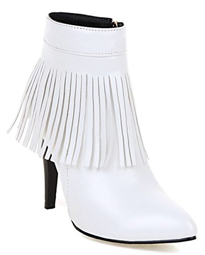 IDIFU-Womens-Sexy-Fringed-Tassels-High-Heels-Stiletto-Pointed-Toe-Ankle-Boots-with-Zipper-0