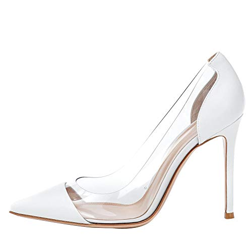 Themost-Women-Formal-Pointed-Toe-Pumps-High-Heel-Stilettos-Sexy-Slip-On-Dress-Shoes-Size-4-15-US-0