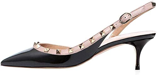 Ayercony-Rivets-Studded-Sandal-Womans-Pointed-Toe-Sandals-High-Heels-Slingback-Pumps-Rockstudded-for-Dress-Party-0
