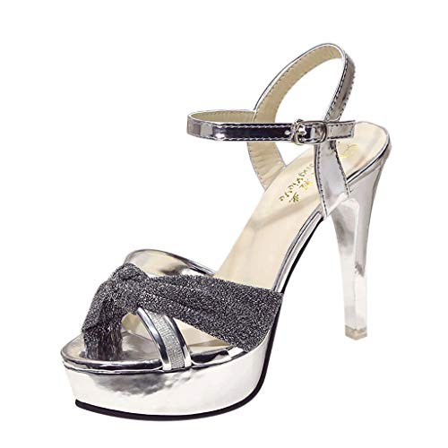 DENER-Women-Ladies-Stilettos-Pumps-Platform-Sandals-with-High-HeelsCross-Straps-Open-Toe-Wide-Width-Comfort-Dressy-Shoes-0