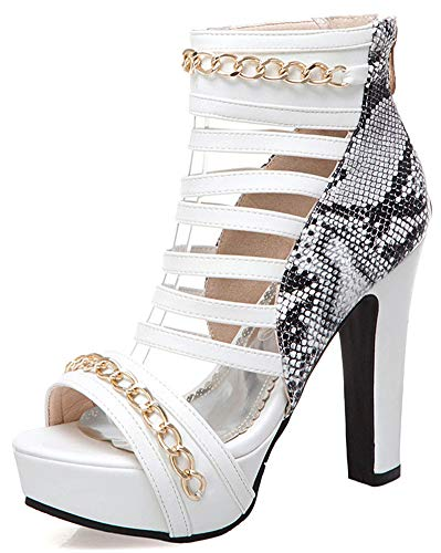 IDIFU-Womens-Sexy-Strappy-Snakeskin-Open-Toe-Extremely-High-Heels-Platform-Back-Zipper-Sandals-White-13-M-US-0