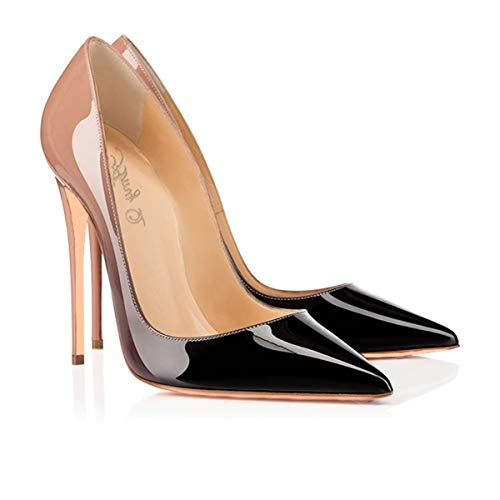 SUN-HUIJIE-Stiletto-High-Heel-Shoes-for-Women-Pointed-Closed-Toe-Classic-Slip-On-Dress-Pumps-0