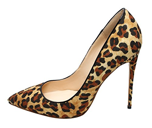 Guoar-Womens-Stiletto-Big-Size-Shoes-Pointed-Toe-Patent-Ladies-Solid-Pumps-for-Work-Place-Dress-Party-Cow-Suede-Zebra-Brown-US11-0
