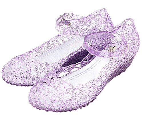 Vokamara-Cinderella-Girls-Soft-Crystal-Plastic-Shoes-Hollow-Out-Wedge-Sandal-Purple-31-0