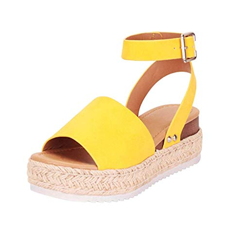 Orangeskycn-Women-Wedge-Sandals-Plus-Size-Summer-Casual-Hemp-Rubber-Studded-Buckle-Ankle-Strap-Open-Toe-Beach-Sandals-Yellow-0
