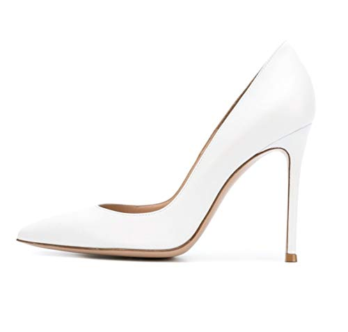 Sammitop-Womens-Closed-Pointed-Toe-Pumps-Stiletto-High-Heels-Office-Lady-Wedding-Party-Dress-Heeled-Shoes-US13-0