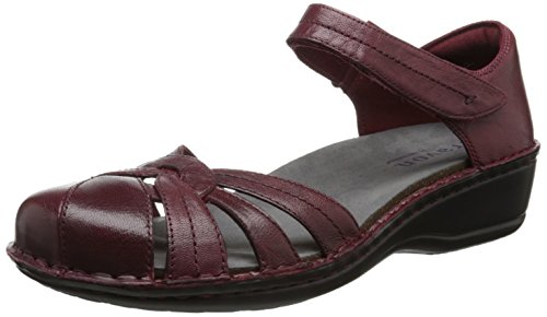 Aravon-Womens-Clarissa-Fisherman-SandalRed-Leather7-M-US-0