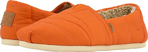 TOMS-Mens-Venice-Collection-Alpargata-Burnt-Orange-Quilted-Nylon-13-D-US-0
