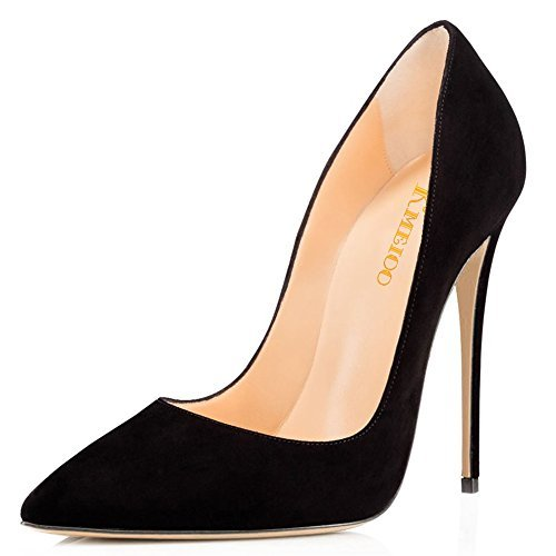 Kmeioo-High-Heels-Womens-Pointed-Toe-High-Heel-Slip-On-Stiletto-Pumps-Evening-Party-Basic-Shoes-Plus-Size-0