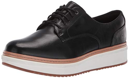 CLARKS-Womens-Teadale-Rhea-Oxford-Black-Leather-065-M-US-0