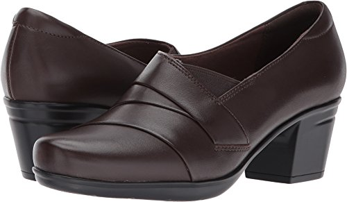 Clarks-Womens-Emslie-Warbler-PumpDark-Brown-Leather85-M-US-0