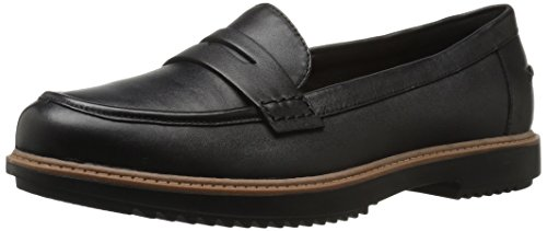 Clarks-Womens-Raisie-Eletta-Penny-Loafer-Black-Leather-85-M-US-0